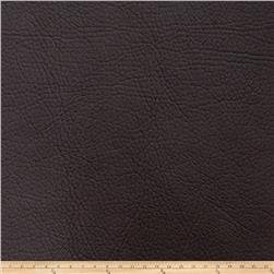 Fabricut Zinc Faux Leather Chestnut