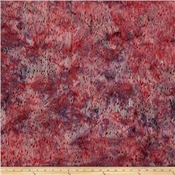 Bali Handpaints Batiks Lines Dusty Pink