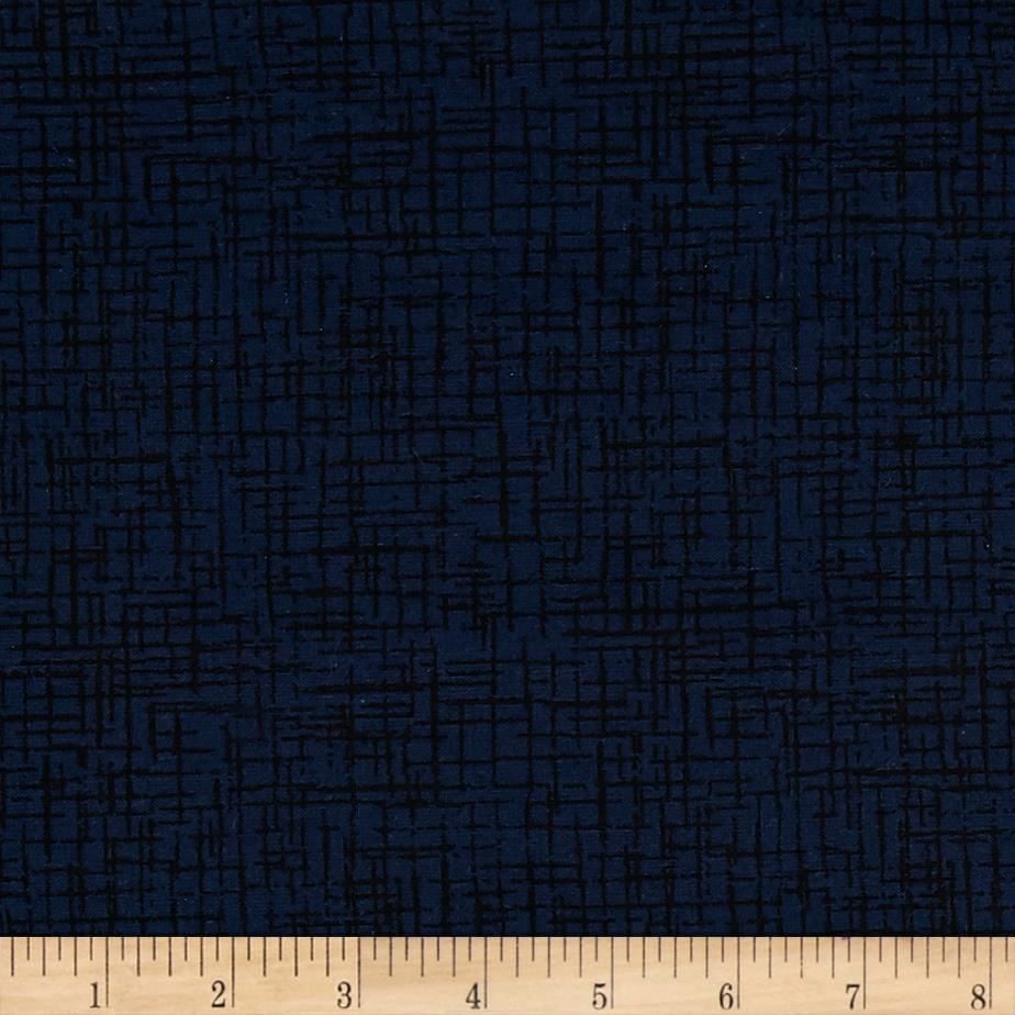 110 In. Wide Quilt Back Betula Navy Fabric