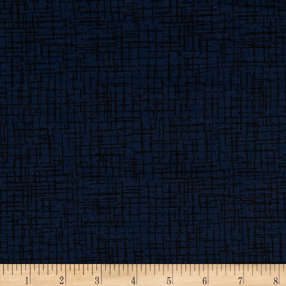 110 In. Wide Quilt Back Betula Navy Fabric by Westrade in USA