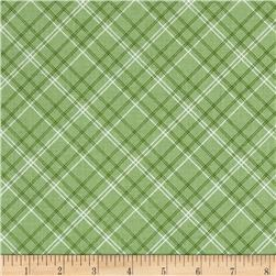 Riley Blake Calico Days Plaid Green