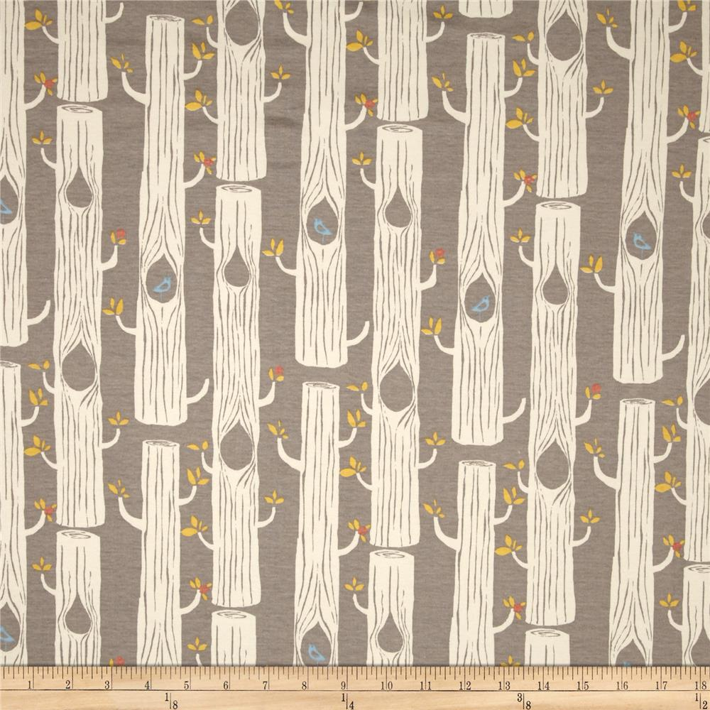 Birch Organic Circa 52 Interlock Knit Tree Stripes