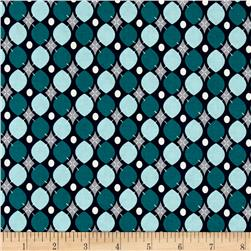 Riley Blake Keep On Groovin' Wallpaper Navy