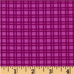 Baby Dino Gingham Purple