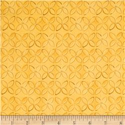 Wild Things Geometric Flower Yellow