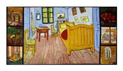"Kaufman Vincent Van Gogh Digital 24"" Panel Multi"