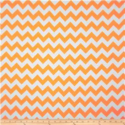 Riley Blake Chevron Neon Orange