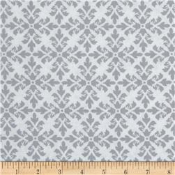 Bliss Damask White/Grey