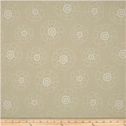 Contempo Palm Springs Mono Florals Cream