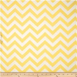 Premier Prints Zig Zag Lucy Yellow