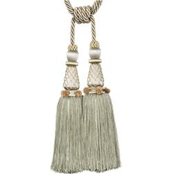 "Trend 31.5"" 02124 Double Tassel Tieback Willow"