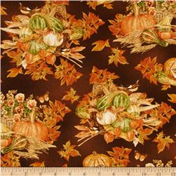 Harvest Botanical Cornucopia Brown