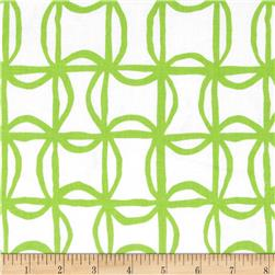 Kanvas Lilified Pin Wheel White/Green