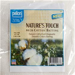"Pellon Natural Blend 80/20 Batting Full 81"" X 96"""