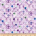 Timeless Treasures Harmony Watercolor Dots Lilac