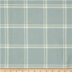 Waverly Bloomsbury Plaid Twill Opal
