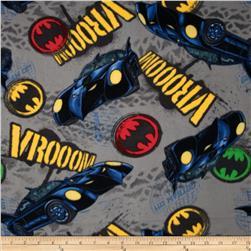 Batman Fleece Vroom Light Grey