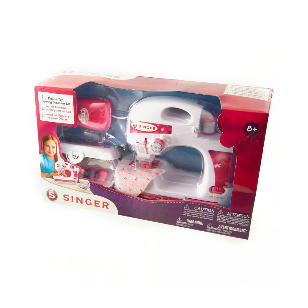 Singer Deluxe Toy Sewing Machine w/ Sewing Kit
