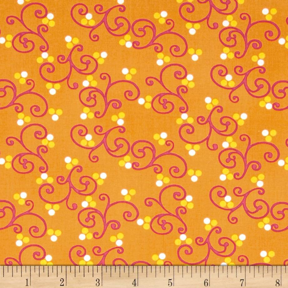Dots Right Scroll Dots Orange