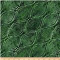 "108"" Wide Essentials Quilt Backing Diagonal Dots Emerald"