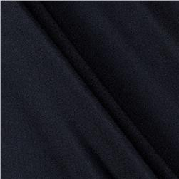Activewear Spandex Knit Jet Black