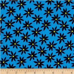 Kanvas Citron Twist Daisy Dot Blue