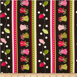 Kimberbell's Merry & Bright Fancy Stripe Black
