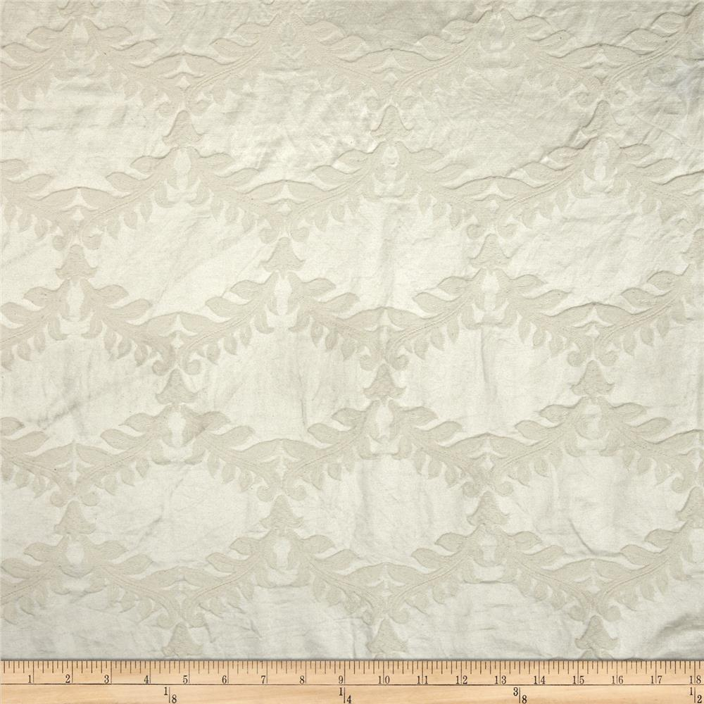 World Wide Naturally Washed Collection Diamond Jacquard Natural