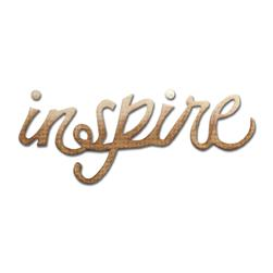 Sizzix Originals Die Phrase, Inspire Medium