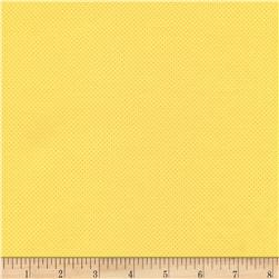 Timeless Treasures Pin Dots Yellow