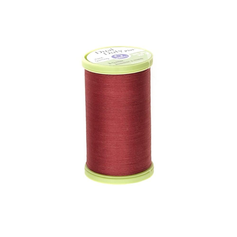 Coats & Clark Dual Duty Plus Hand Quilting Thread 325 Yds.Barberry Red