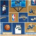 NBA Fleece Washington Wizards Blocks Blue/Gold