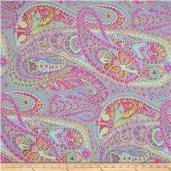 Kaffe Fassett Collective Paisley Jungle Grey Fabric