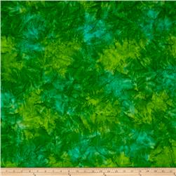 Kaufman Artisan Batiks Patina Handpaints Mottled Emerald
