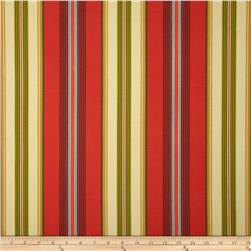Swavelle/Mill Creek Indoor/Outdoor Gamali Stripe Lipstick Fabric