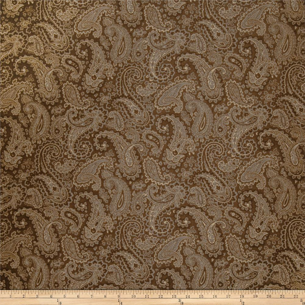 Trend 1945 Faux Silk Chocolate