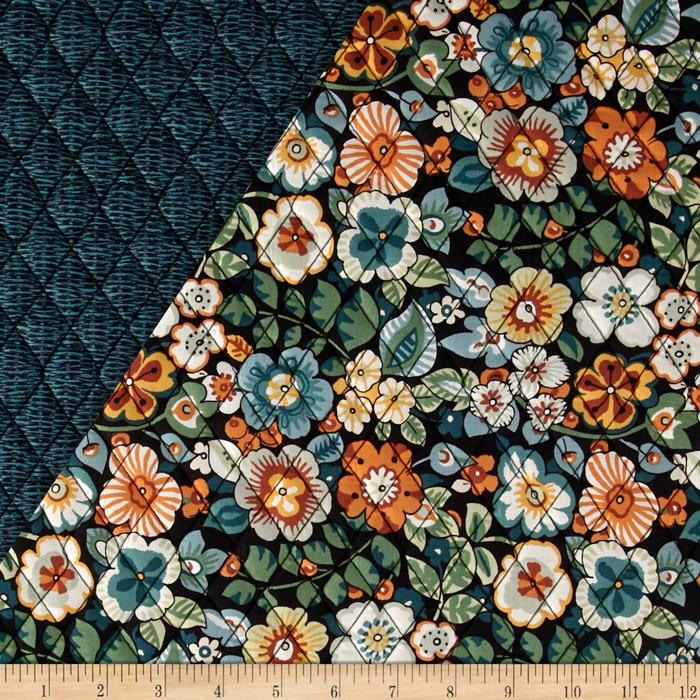 Alexander Henry Double Sided Quilted Bella Strada Rennie Black