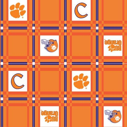 Collegiate Tailgate Vinyl Tablecloth Clemson University