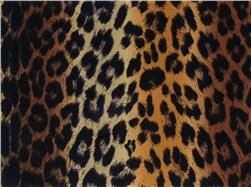 Printz Felt 9'' x 12'' Craft Cut Brown Leopard