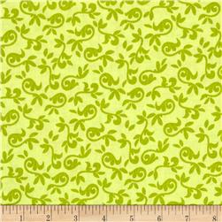 Riley Blake Halle Rose Small Floral Green