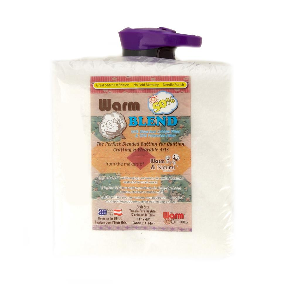 The Warm Company Warm Blend Cotton/Poly Batting Craft