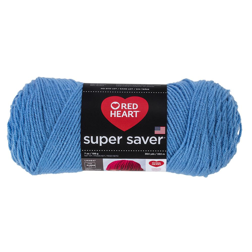 RED HEART SUPER SAVER YARN 347 LIGHT PERIWINKLE