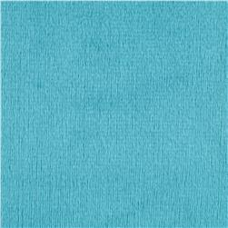 Shannon Minky Solid Cuddle 3 Extra Wide Teal