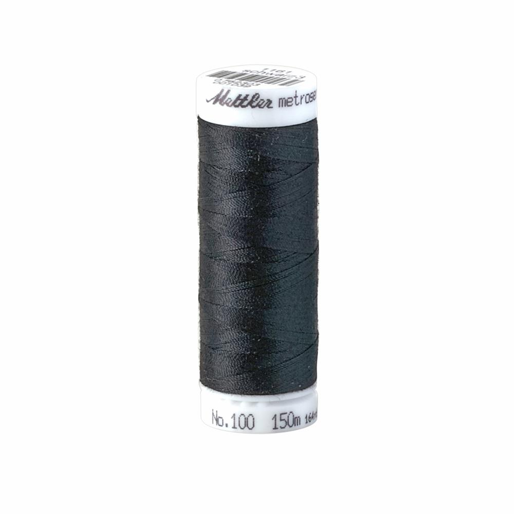 Mettler Metrosene Polyester All Purpose Thread Black