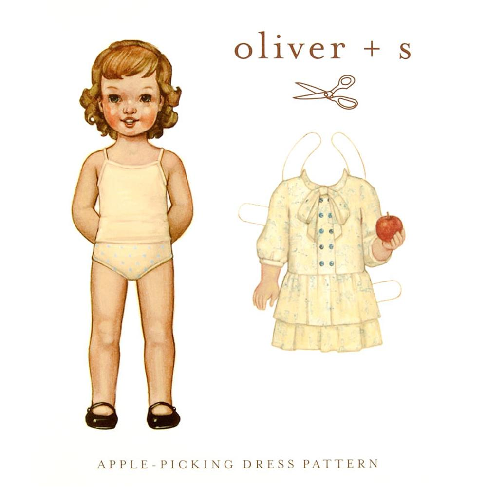 Oliver + S Apple Picking Dress 6M-4T