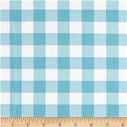 Premier Prints Plaid Coastal Blue
