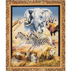 Wild Wings Kenyan Plains Wall Panel
