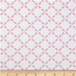 Anything Goes Basics Ditsy Grid Pink