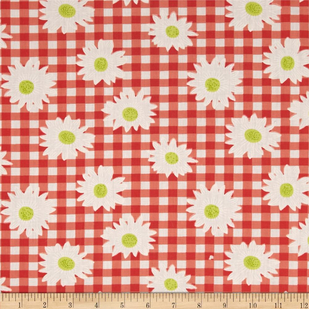 Gin Dai Cotton Poly Broadcloth Coral