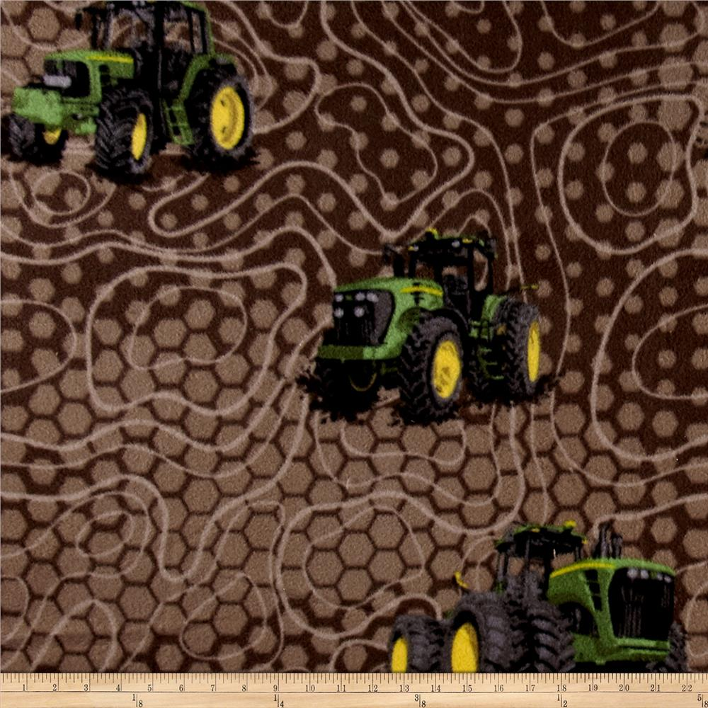John Deere Fleece Farm Land Multi